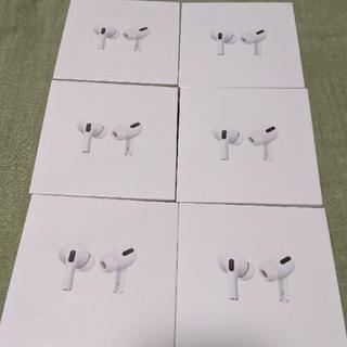 アップル(Apple)のApple Air Pods Pro MWP22J/A  6つ【新品未開封】(ヘッドフォン/イヤフォン)