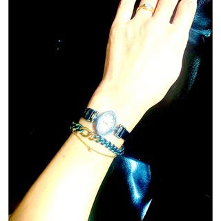 アガット(agete)のagete 腕時計プレミアム限定 替えレザーベルト2本組 silver製(腕時計)