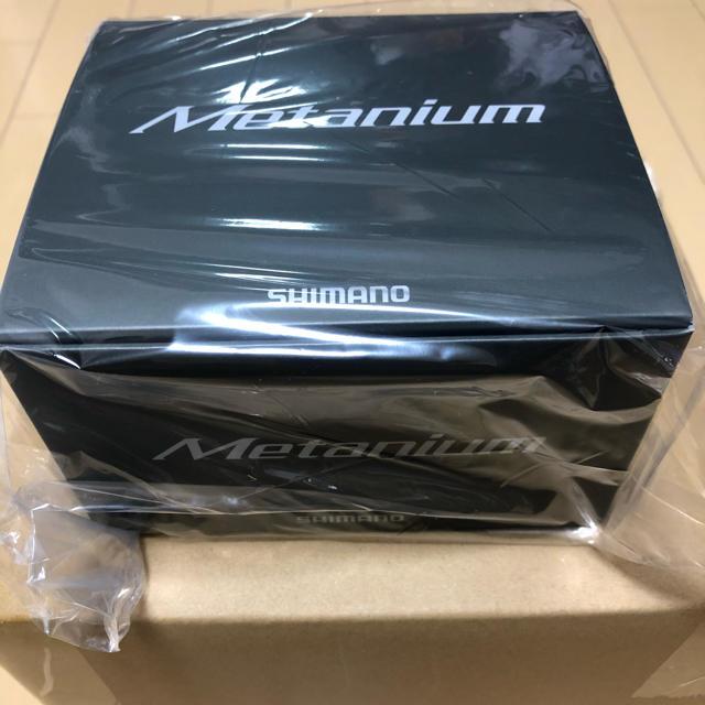 SHIMANO(シマノ)の新品未開封 シマノ 20 メタニウム RIGHT  スポーツ/アウトドアのフィッシング(リール)の商品写真