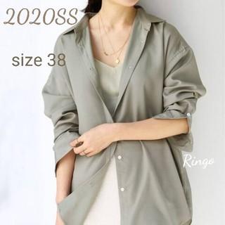 IENA - 【2020SS】Ly/Pツイルオーバーシャツ◆size 38