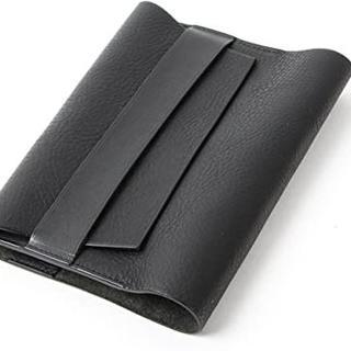 ブックカバー 高級本革 文庫本サイズ 日本製 ブラック