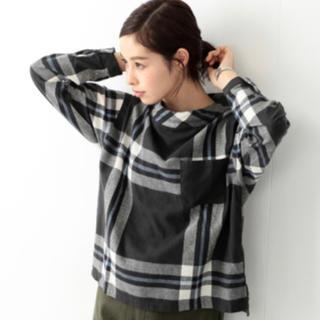 ビームスボーイ(BEAMS BOY)のビームスボーイ ビッグタータンバスクシャツ(シャツ/ブラウス(長袖/七分))