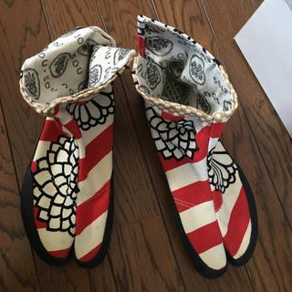ソウソウ(SOU・SOU)のsousing足袋靴(スニーカー)