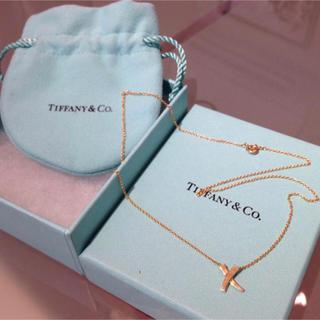 Tiffany & Co. - ティファニーのK18YGネックレス