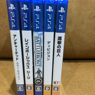 PlayStation4 - ps4 ソフト