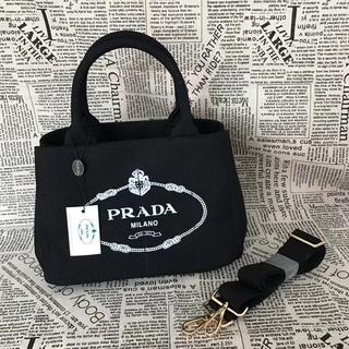 PRADA - プラダ PRADA カナパ ショルダーバッグ ハンドバッグ 今夜のみ