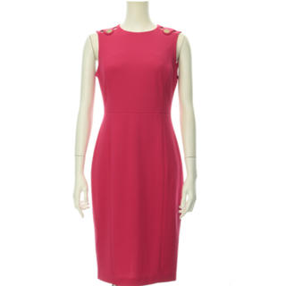 Calvin Klein - カルバンクライン ノースリーブ ワンピース ピンク