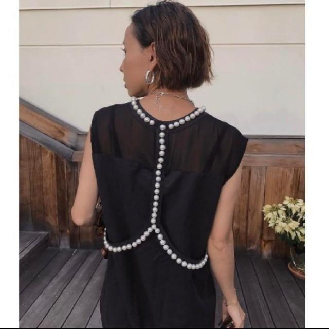 Ameri VINTAGE(アメリヴィンテージ)のAmeri パールマーメイド ドレス ワンピース レディースのワンピース(ロングワンピース/マキシワンピース)の商品写真