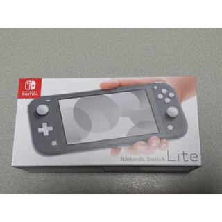 Nintendo Switch - ニンテンドースイッチ ライト 本体 グレー 任天堂 HDH-S-GAZAA