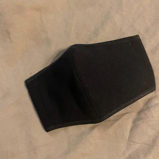 黒 キッズ 子供 立体 カバー インナーマスク ハンドメイド 黒ゴム(外出用品)