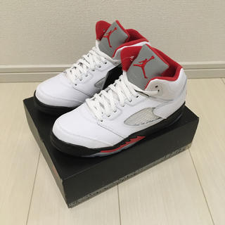 NIKE - 22cm NIKE AIR JORDAN 5 PS FIRE RED ジョーダン