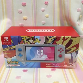 Nintendo Switch - 【新品未使用】Nintendo Switch Lite ザシアン・ザマゼンタ