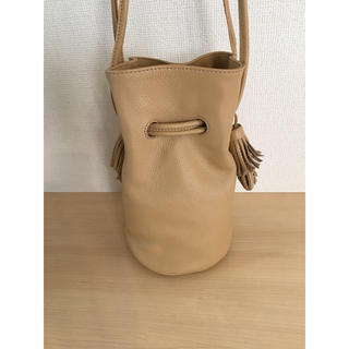 UNITED ARROWS - JAMIRAY 本レザー 巾着バッグ