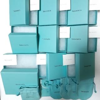 Tiffany & Co. - ティファニー 空箱 巾着 保存袋 購入カード