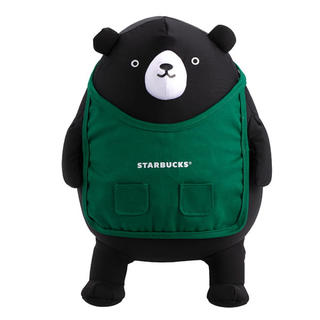 Starbucks Coffee - ベアリスタ ぬいぐるみ ネックピロー 枕 飛行機 携帯用 台湾スターバックス 熊