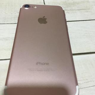 Apple - iPhone 7 128gb ローズゴールド 中古 SoftBank