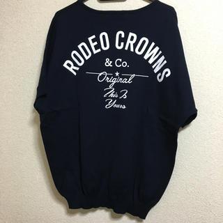 RODEO CROWNS WIDE BOWL - ロデオクラウンズ 半袖 ニット