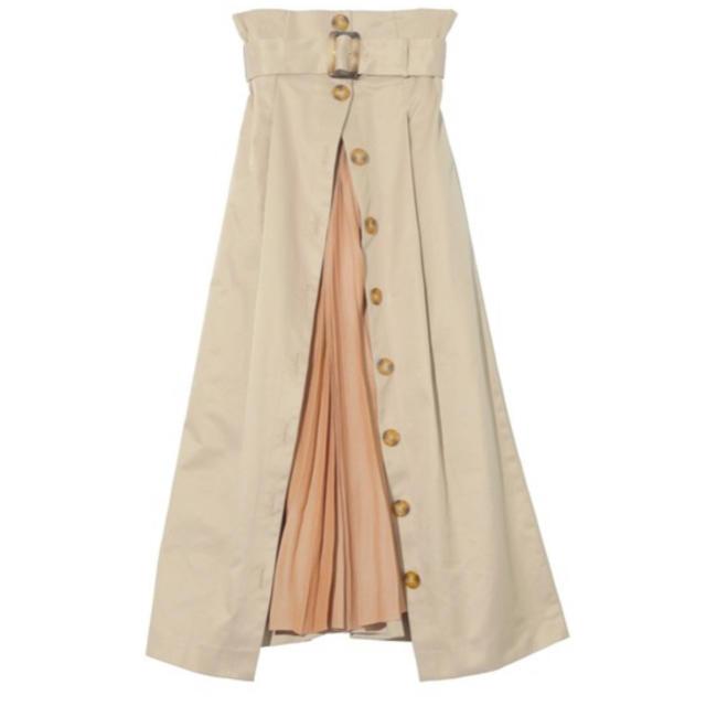 eimy istoire(エイミーイストワール)のeimyistoireプリーツレイヤードスカート レディースのスカート(ロングスカート)の商品写真