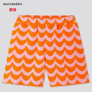マリメッコ(marimekko)の即発送可能!100〜160センチ 海外限定 マリメッコ UNIQLO(パンツ/スパッツ)