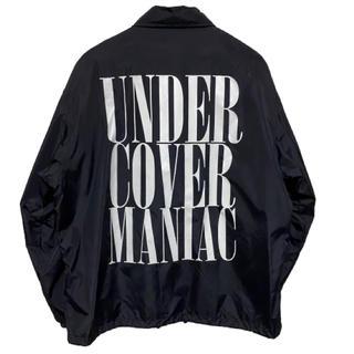 UNDERCOVER - ●【定価約1.8万】UNDERCOVER コーチジャケット バックロゴ●