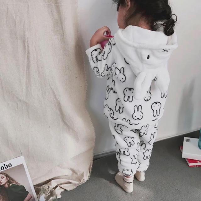 ミッフィー パジャマ ルームウェア  かわいい うさぎ キッズ/ベビー/マタニティのキッズ服女の子用(90cm~)(パジャマ)の商品写真
