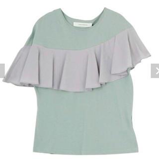 ラグナムーン(LagunaMoon)のラグナムーン フリルカットTシャツ(Tシャツ(半袖/袖なし))