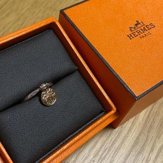 Hermes - エルメス エクス リブリス 指輪 リング コンビ ロゴ H PG SV