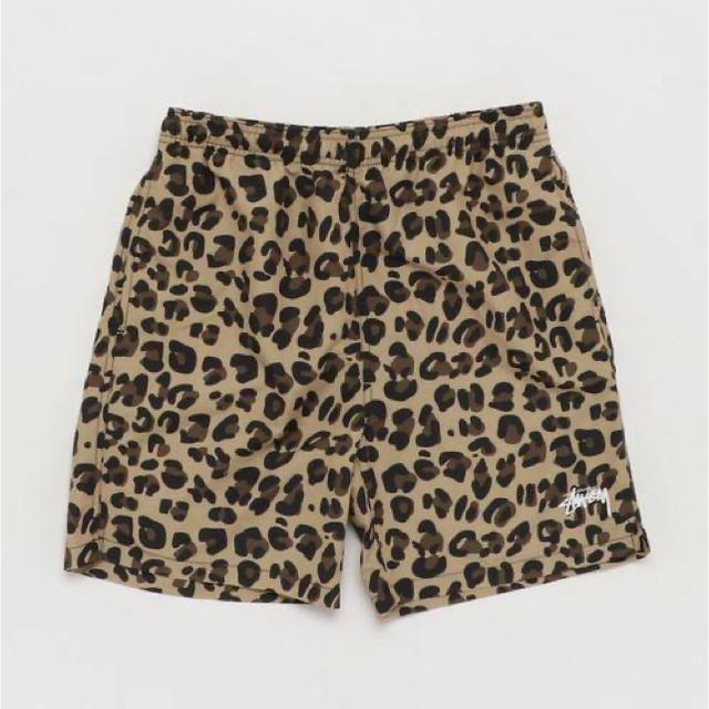 STUSSY(ステューシー)のstussy ヒョウ柄パンツ メンズのパンツ(ショートパンツ)の商品写真