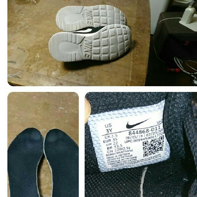 NIKE(ナイキ)の【tamakichi様専用】NIKE スニーカー22cm キッズ/ベビー/マタニティのキッズ靴/シューズ(15cm~)(スニーカー)の商品写真