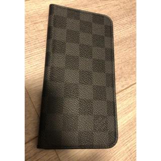 LOUIS VUITTON - 本物 正規品 ヴィトン iphoneケース ダミエグラフィット❤ 財布 bag