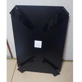 ニトリ(ニトリ)の 折り畳みテーブル 黒(ローテーブル)