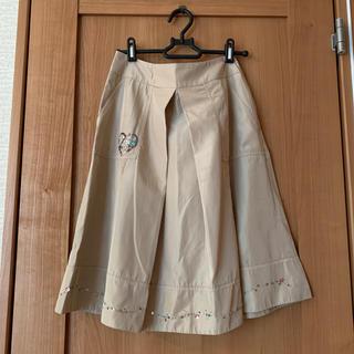 Cynthia Rowley - シンシアローリーの裾ビーズ刺繍スカート