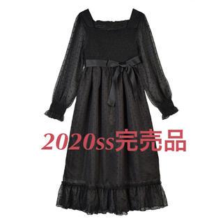 evelyn - 2020ss完売品♡新品未使用♡ ハートマキシワンピース
