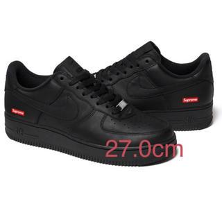 NIKE - Supreme Nike Air Force 1 Low Black 27.0㎝