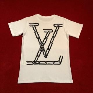 LOUIS VUITTON - 白いTシャツ ルイ・ヴィトン メンズ半袖