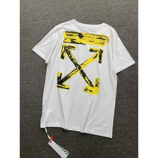 OFF-WHITE - 20aw Off-WhiteTee  Tee アローロゴ Tシャツ Lサイズ