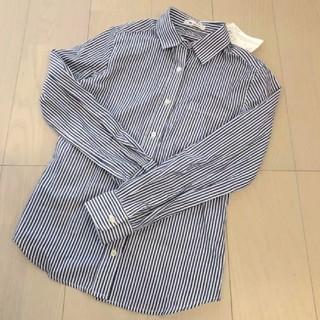 M.deux - 先着順購入♡新品タグ付   M.deux *ストライプシャツ 38(M)