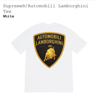 Supreme - Supreme  シュプリームTシャツ ランボルギーニ 白