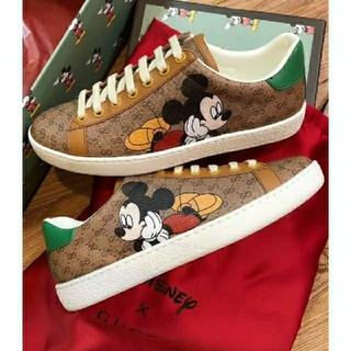 ディズニー(Disney)のGG Disney x Gucci Ace sneaker スニーカー 23.5(スニーカー)