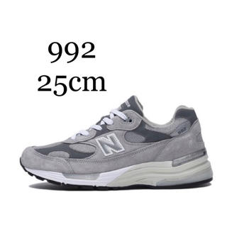 New Balance - 25cm New Balance M992GR