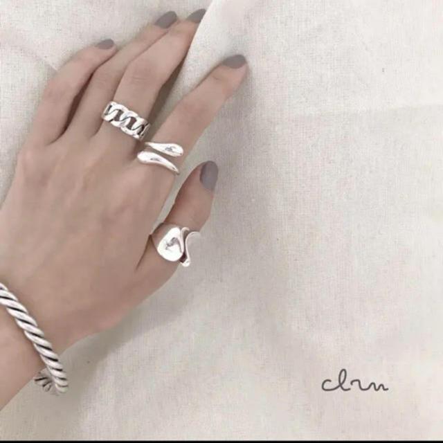 BEAUTY&YOUTH UNITED ARROWS(ビューティアンドユースユナイテッドアローズ)の大人気なため再入荷!tear drop ring silver925 三点セット レディースのアクセサリー(リング(指輪))の商品写真