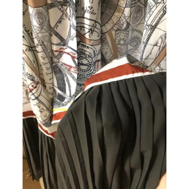 Ameri VINTAGE(アメリヴィンテージ)のameri UNDRESSED CRUISE SCARF DRESS レディースのワンピース(ロングワンピース/マキシワンピース)の商品写真