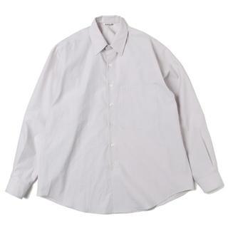 COMOLI - AURALEE 2020SS新作フィンクスツイルビッグシャツ サイズ4新品未使用