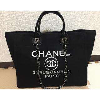 CHANEL - 【非売品♡】CHANEL 海外ノベルティ トートバッグ 大容量 新品