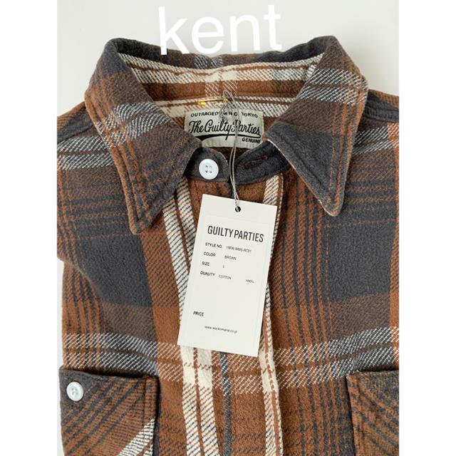 WACKO MARIA(ワコマリア)のLサイズ 新品 ワコマリア フランネル チェックシャツ ネルシャツ キムタク着 メンズのトップス(シャツ)の商品写真