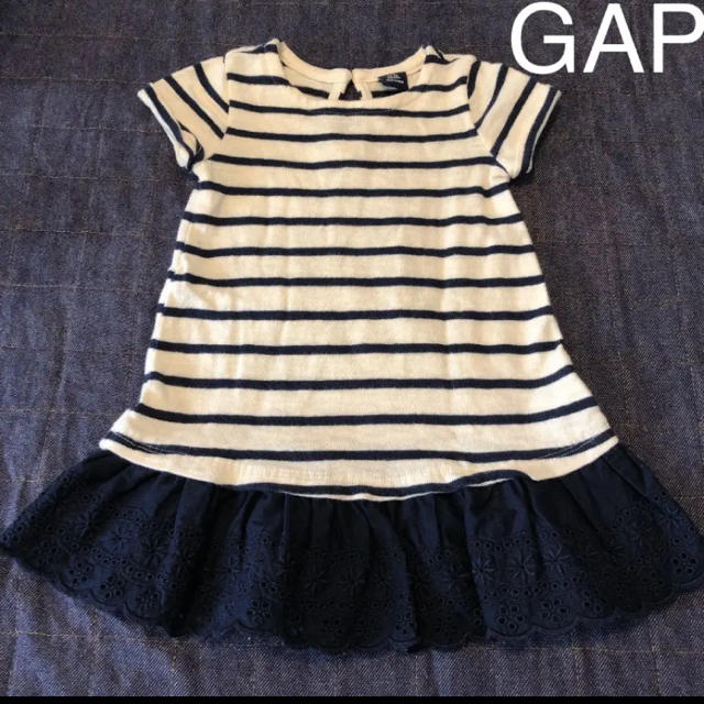 GAP(ギャップ)のGAP ワンピース キッズ/ベビー/マタニティのキッズ服女の子用(90cm~)(ワンピース)の商品写真