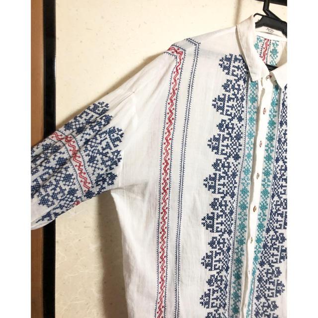 UNITED ARROWS(ユナイテッドアローズ)のチュニック シャツ レディースのトップス(シャツ/ブラウス(長袖/七分))の商品写真