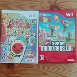 Wii - 太鼓の達人Wii 決定版 Wii ニュースーパーマリオ