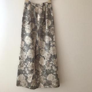 Santa Monica - 花柄ロングスカート