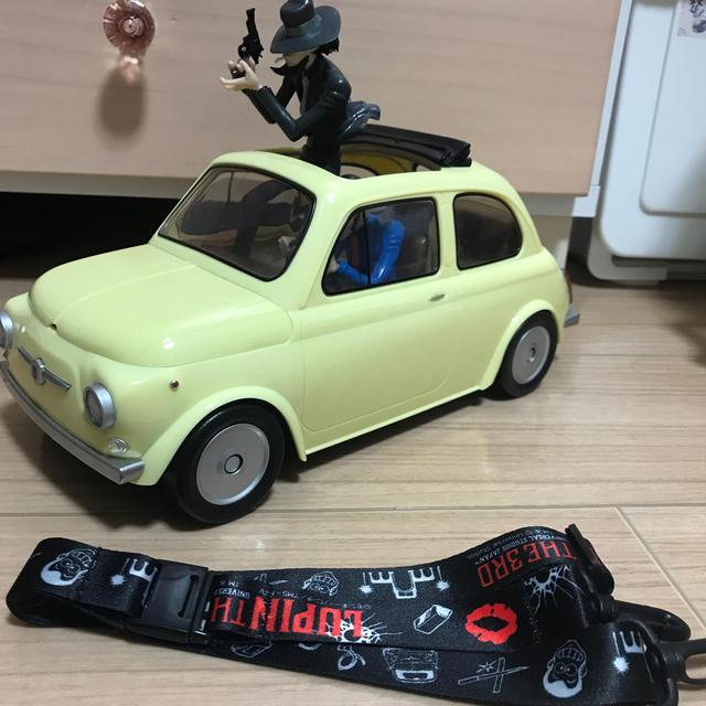 USJ(ユニバーサルスタジオジャパン)のルパン ポップコーンバケット エンタメ/ホビーのおもちゃ/ぬいぐるみ(キャラクターグッズ)の商品写真